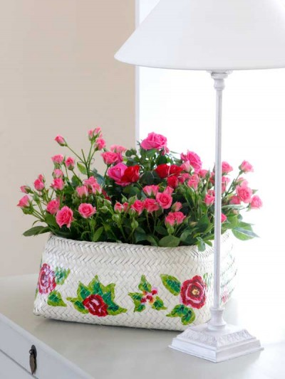 Ideas para decorar con rosas 1