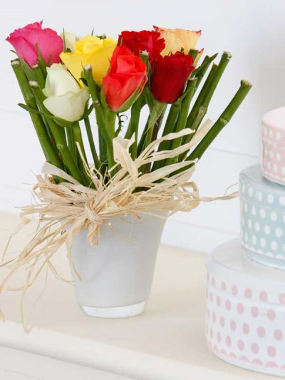 Ideas para decorar con rosas 2
