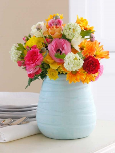 Ideas para decorar con rosas 3