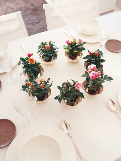 Ideas para decorar con rosas 4
