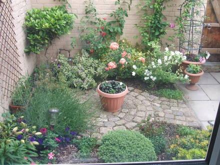 Algunas ideas para jardines peque os for Decoracion de espacios pequenos con plantas