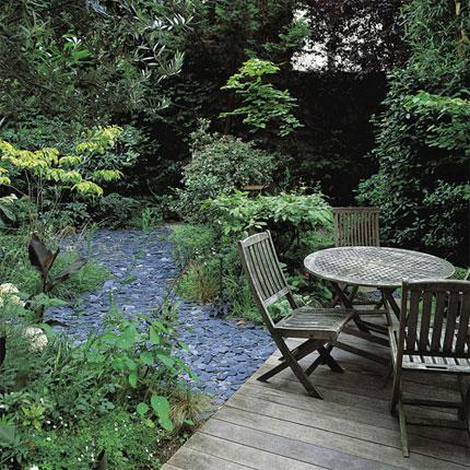 Algunas ideas para jardines peque os - Amenagement petit jardin 40m2 ...