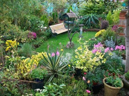 Algunas ideas para jardines peque os for Jardines 300 metros cuadrados