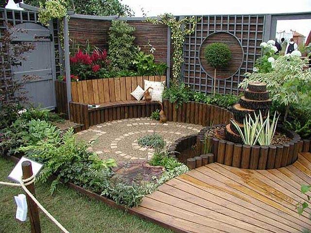 Algunas ideas para jardines peque os for Ideas jardines pequenos