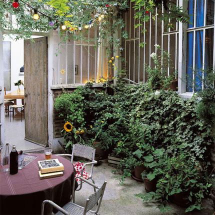 Algunas ideas para jardines peque os for Jardines pequenos techados