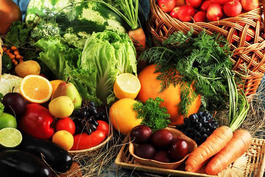 Frutas y verduras contra el estrés