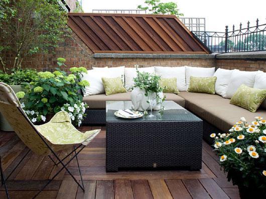Jardines en terrazas - Terraza y jardin ...