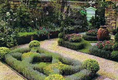 Jard n de hierbas arom ticas for Jardin de plantas aromaticas