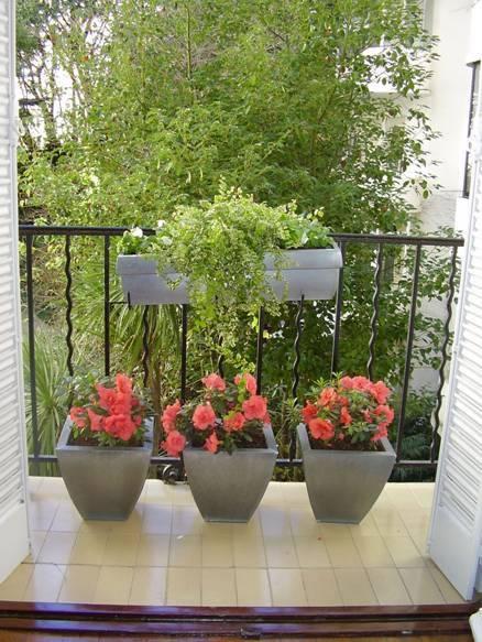 Consejos para un jard n en macetas for Macetas decoradas para jardin