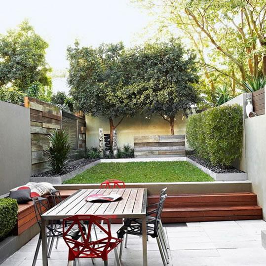 Ideas para jardines modernos for Contemporary courtyard garden designs