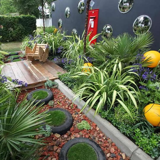 Small Home Garden Ideas Sample: Ideas Para Jardines Modernos