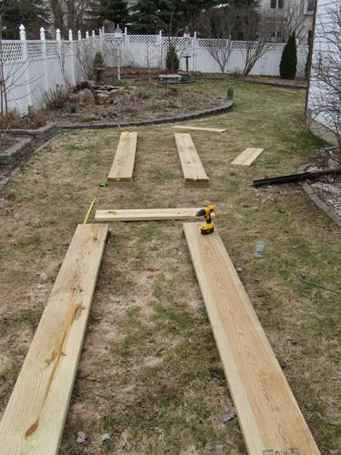 construye una cama para verduras 1