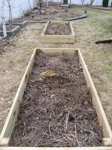 construye una cama para verduras 3