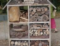 imagen Un hotel para insectos en nuestro jardín