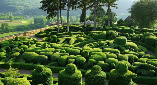 jardines increible de Marqueyssac 1