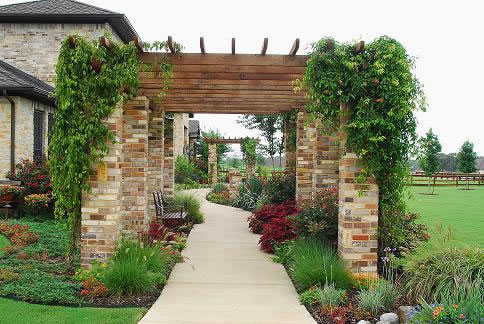 9 Ideas De Pergolas Para El Jardin - Jardines-con-pergolas