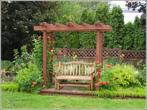 9 ideas de p rgolas para el jard n for Jardin las pergolas