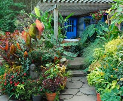 9 ideas de p rgolas para el jard n for Ideas para el jardin reciclando