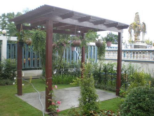 Las flores de pepilo 9 ideas de pergolas para el jardin for Jardin las pergolas