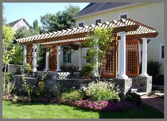 9 ideas de pérgolas para el jardín