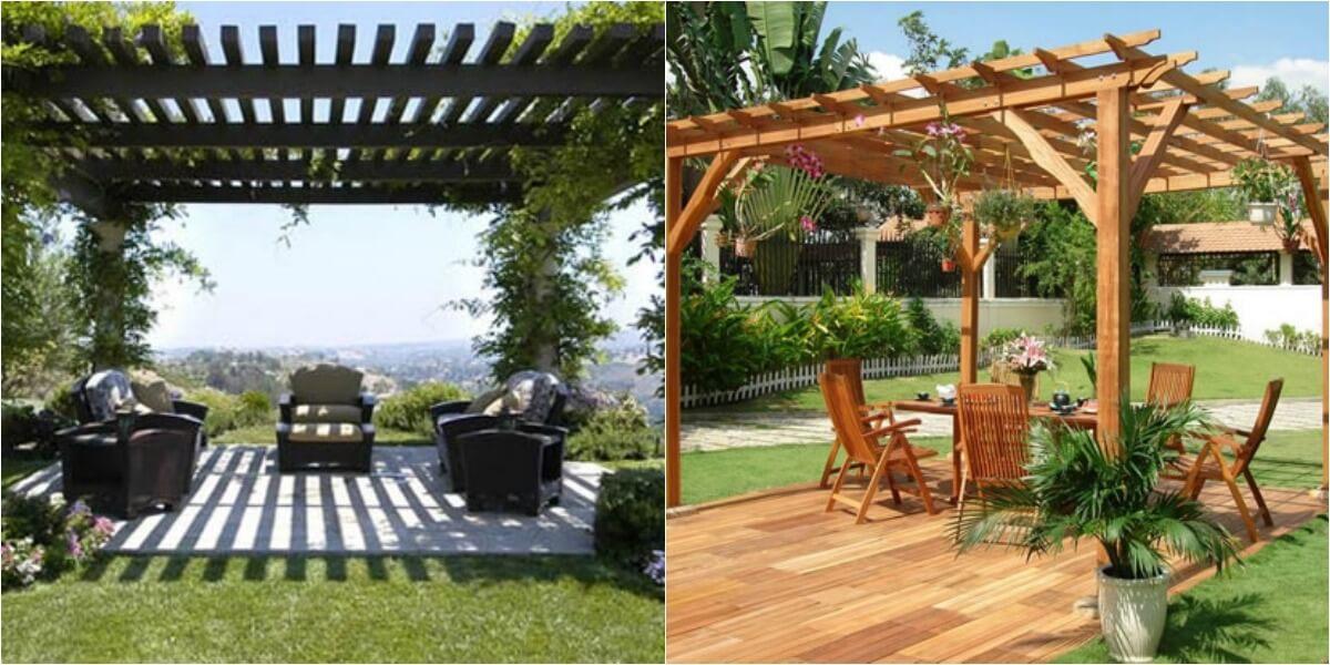 9 ideas de p rgolas para el jard n - Casetas para el jardin ...