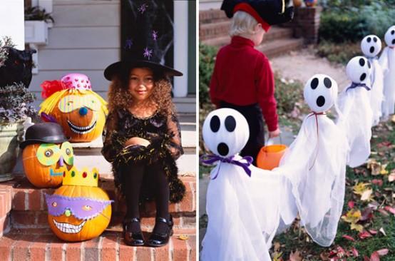 Decorar el jardín en Halloween 1