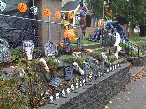 Hacer del jard n un infierno en halloween - Ideas para hacer en halloween ...