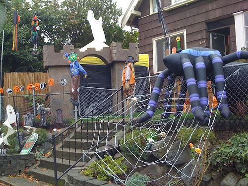 Hacer del jard n un infierno en halloween for Jardin halloween