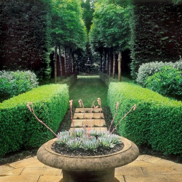 Simetría en el jardín 1