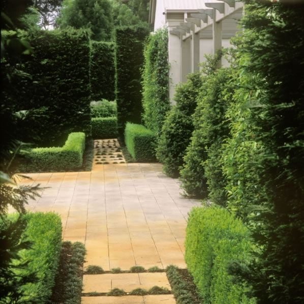 Simetría en el jardín 3