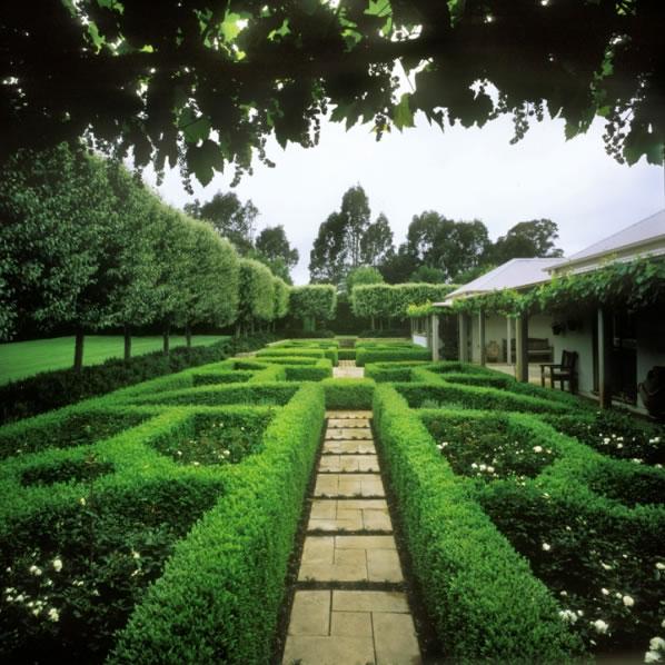 Simetría en el jardín 5