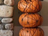 imagen Componer un topiario de calabazas para halloween
