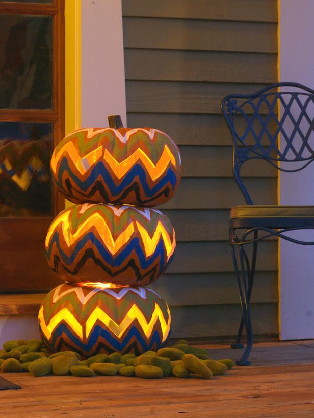 Componer un topiario de calabazas para halloween 3