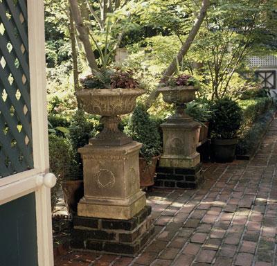 Fuentes para decorar el jardín 2