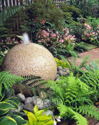 Fuentes para decorar el jardín 3