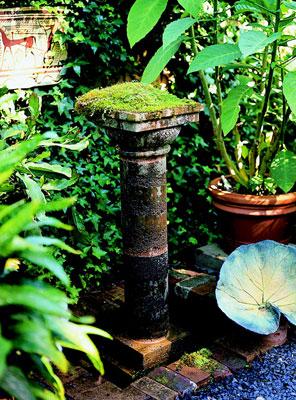 Fuentes para decorar el jardín 4