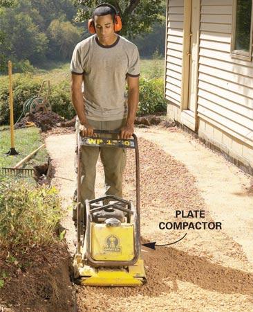 Aprende a construir un camino de jardin 10