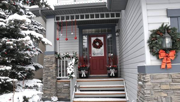 Como decorar el porche en navidad - Decorar porche pequeno ...