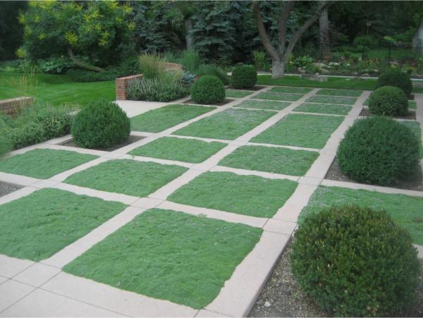 geometría del jardín 2