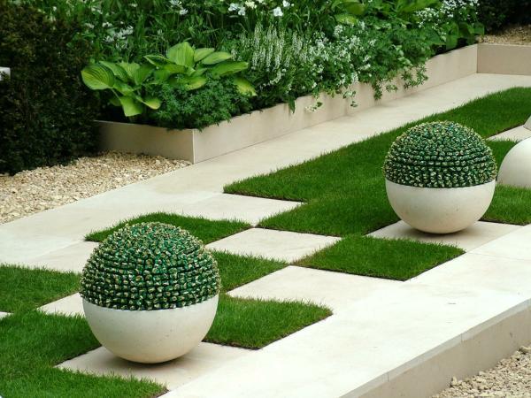 geometría del jardín 4