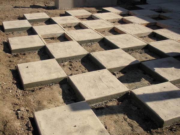 Contruir table de ajedrez en el jardín 5