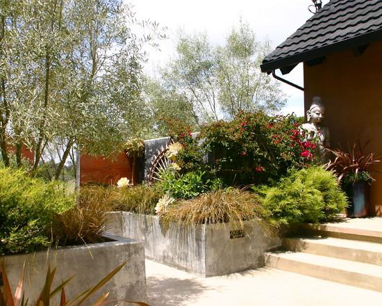 Un jardín mediterráneo en California 2