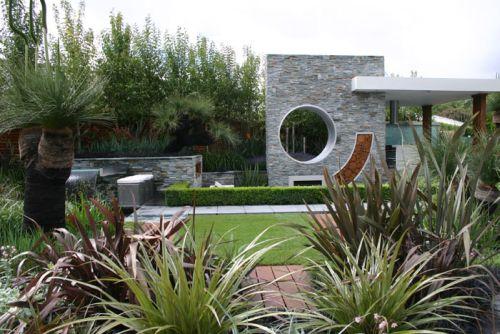 Estilo moderno en el jardín 1