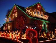 imagen Impresionantes decoraciones navideñas de exterior