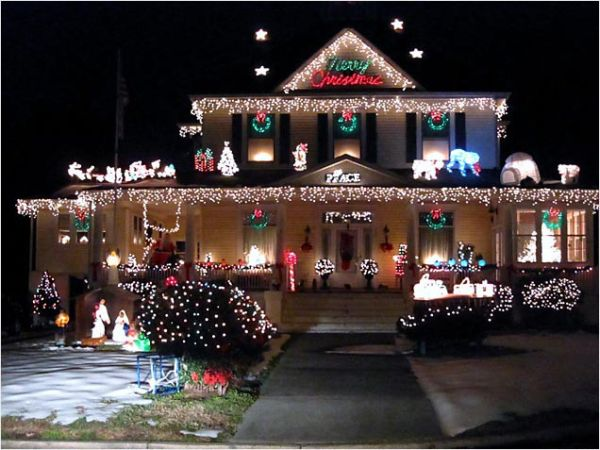 decoraciones navideñas de exterior 11