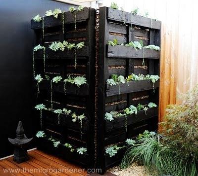 Utiliza palés en tu jardín 3