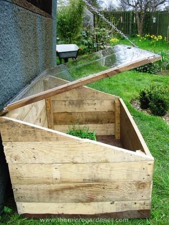 Utiliza palés en tu jardín 5