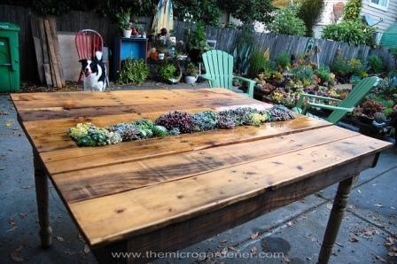 Utiliza palés en tu jardín 10