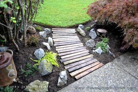 Utiliza palés en tu jardín 11