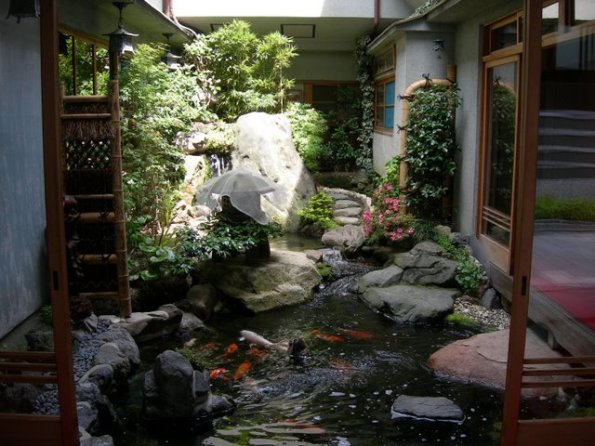Tipos de jard n japon s for Jardin japones interior